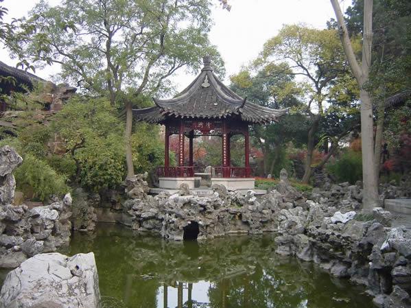 中国古典别墅园林风格